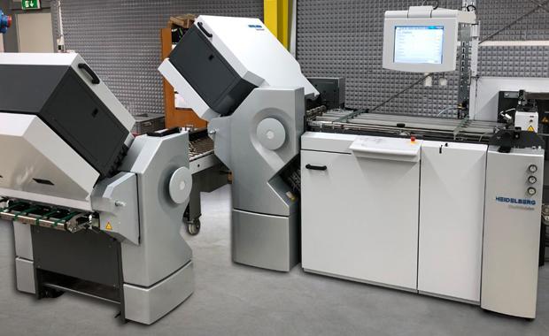 Graphische Betriebe Kip investiert in Druckweiterverarbeitung Stahlfolder Falzmaschine und Faltschachtel-Klebemaschine