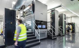 Interprint GmbH investiert in dritte Rotajet der Koenig & Bauer AG Inkjet Digitaldruck Dekordruck