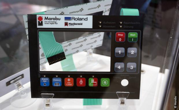 Marabu und Roland DG entwickeln VS-300iS-Go für industriellen Druck Inkjet