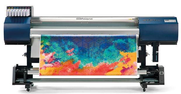 Roland DG Großformatdrucker Soljet EJ-640 Deco Printed Interior Inneneinrichtung
