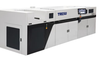 Tresu iCoat II Druckveredelung Lackierung Digitaldruck Faltschachteln
