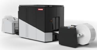 Xeikon SX30000 Tonerdruck Rollendruck Digitaldruck