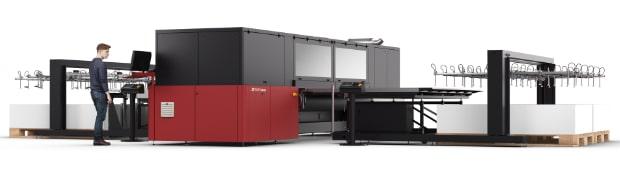 Agfa Graphics neue Optionen für Jeti Tauro H3300 LED UV-Inkjet Großformatdruck Flachbettdruck