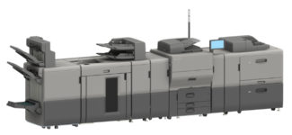 Bogen-Digitaldruck Ricoh Pro C5300