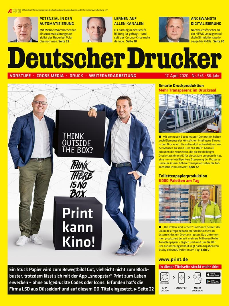 Produkt: Deutscher Drucker 5-6/2020 Digital