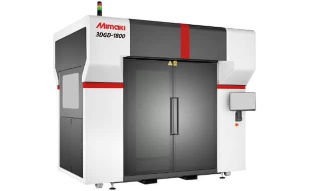 Mimaki 3DGD-1800 3D-Druck im Großformatdruck