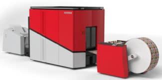 Xeikon CX300 Cheetah 2.0 Digitaldruck Tonerdruck Rollendruck Etikettendruck