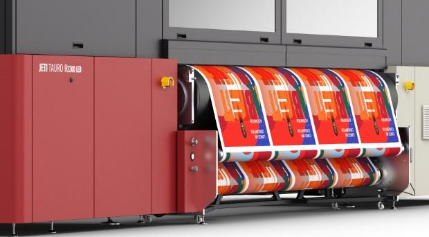 Agfa Jeti Tauro H3300 LED bei Christinger AG Großformatdruck Inkjetdruck Hybriddruck