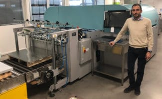 Blechdruckerei STA investiert in Acuity B1 von Fujifilm Großformatdruck Blechdruck Inkjet Digitaldruck
