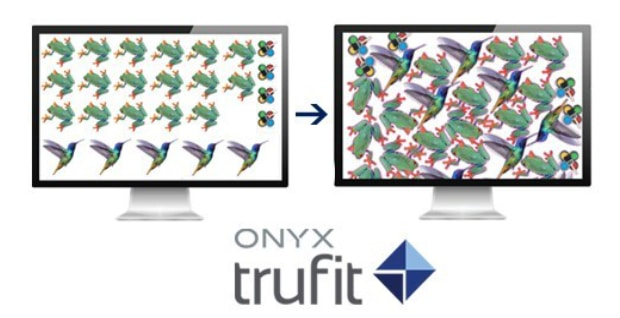 Onyx TruFit Nesting Software Großformatdruck Large Format Printing Druckvorstufe Workflow Digitaldruck