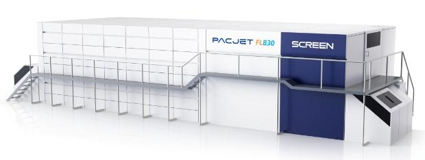 Screen Pac-Jet FL830 Verpackungsdruck Inkjetdruck Digitaldruck flexible Verpackungen