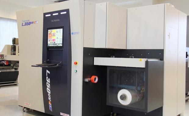 Screen Truepress Jet L350UV+LM für O.D.D. GmbH & Co KG Etikettendruck Inkjet UV-Druck Digitaldruck