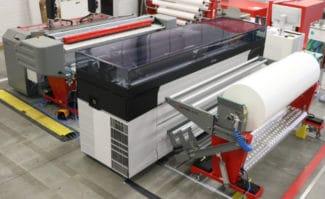 UVgel-Wallpaper-Factory Canon Fotobo Großformatdruck Jumbo-Rollen