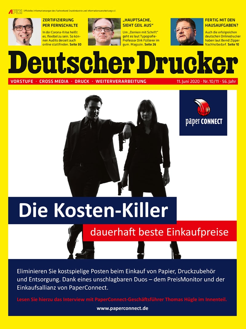 Produkt: Deutscher Drucker 10-11/2020
