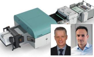 Fujifilm und Blechdruckerei Tinmasters schließen Partnerschaft UV-Inkjet Großformatdruck Digitaldruck Inkjet