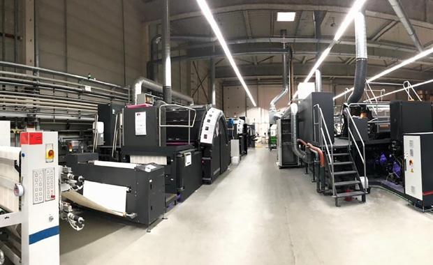 GGP Media GmbH Bertelsmann Printing Group HP Pagewide Web Press T490 HD Inkjet
