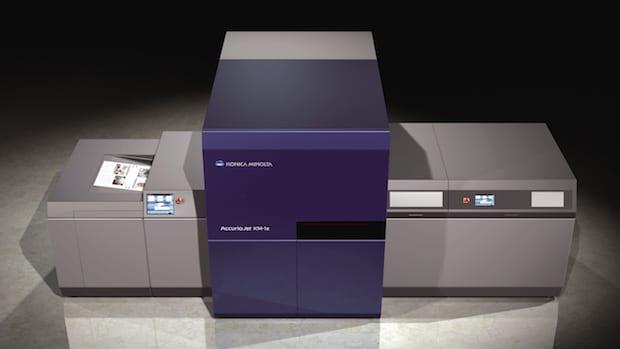 Konica Minolta Accuriojet KM-1e Bogen-Inkjet Digitaldruck UV-Inkjet
