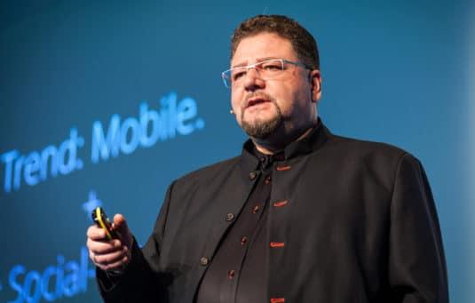 Online-Druckerei: Zipcon Consulting-Chef Bernd Zipper.