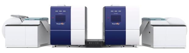 Screen Truepress Jet 520 HD Mono Schwarzweißdruck Inkjet Digitaldruck Rollendruck Inkjet-Rolle