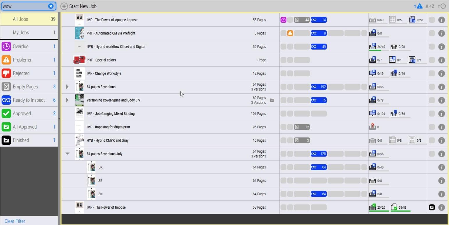 Druckvorstufe: Die Workflow-Software Agfa Apogee mit ihren Automatisierungsverbesserungen soll Kunden ab Oktober 2020 zur Verfügung stehen.