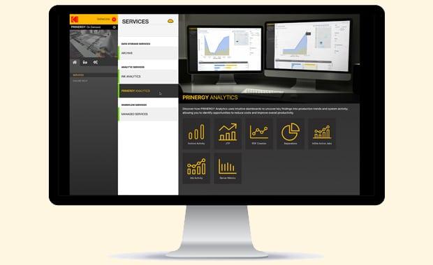 Computer-to-Plate: Nächste Evolutionsstufe bei Kodak im Bereich Workflow: Der globale On-Demand-Workflow aus der Cloud wird mit Kodak Prinergy On Demand nun Realität.
