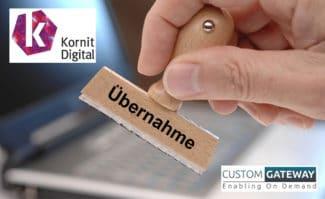 Textildruck: Der israelische Hersteller Kornit Digital hat die britische Softwareschmiede Custom Gateway übernommen.
