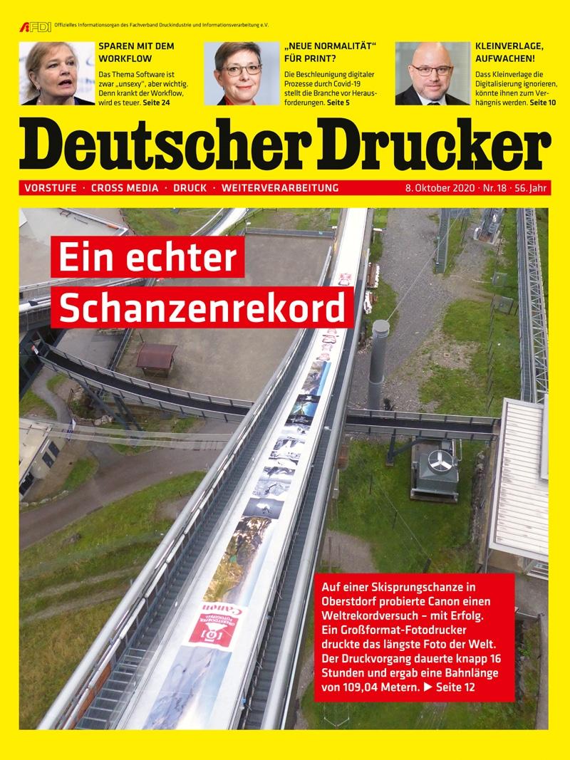 Produkt: Deutscher Drucker 18/2020