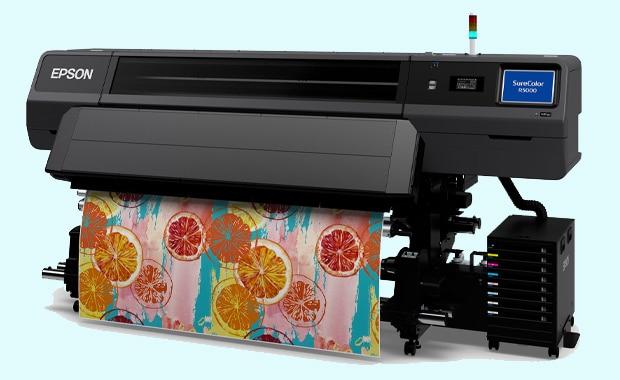 Large Format Printing: der neue Epson Surecolor SC-R5000 – erhältlich ab Dezember.
