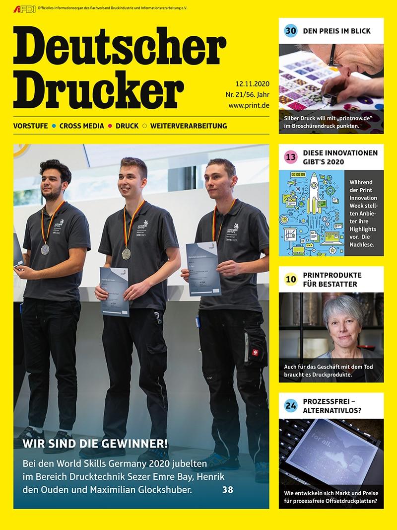Produkt: Deutscher Drucker 21/2020