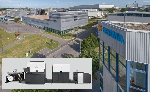 Die insgesamt vierte HP Indigo 6900 Digital Press hält Einzug beim Etikettendrucker Herma in Filderstadt.