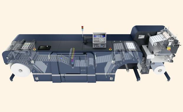 Die Etikettendruck-Systeme Konica Minolta Accurio Label 190 und 230 sind ab sofort optional um eine Flexodruckeinheit erweiterbar.