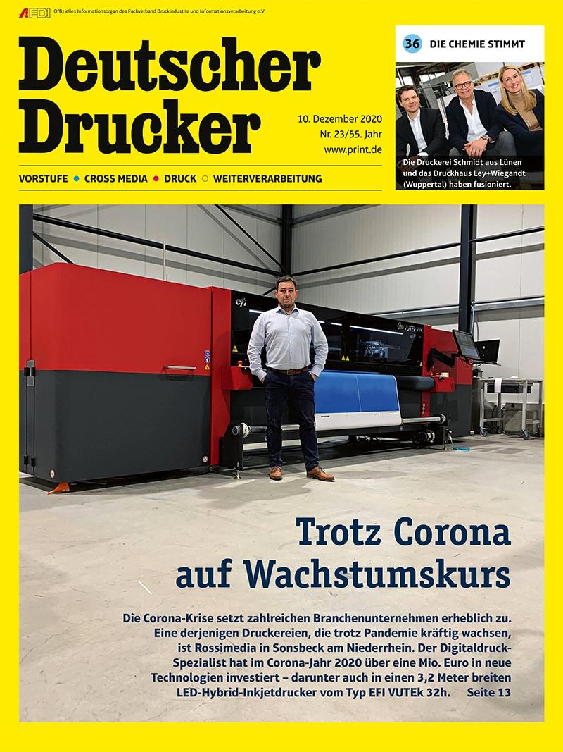 Produkt: Deutscher Drucker 23/2020