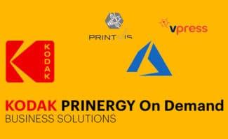 Die Kodak Prinergy On Demand Business Solutions sind eine skalierbare, automatisierte Software-Komplettlösung für alle Geschäftsprozesse einer Druckerei – angeboten im SaaS-Abo.