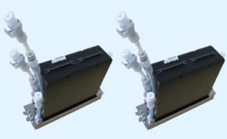 Der neue Kyocera-Inkjet-Druckkopf, Modell KJ4B-EX 1200.