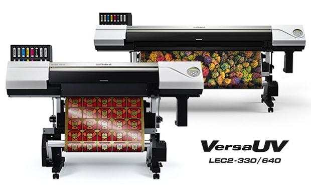 Large Format Printing: die zwei neuen Drucker/Schneideplotter aus der Reihe VersaUV-LEC2 von Roland DG.