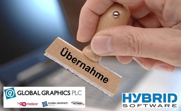 Hybrid Software ist nach der Übernahme nun viertes Tochterunternehmen unter dem Dach der Global Graphics PLC.