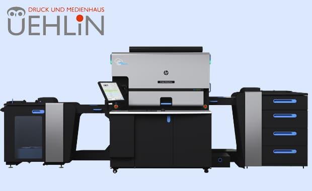 Ersatzinvestition: Im Druck- und Medienhaus Uehlin in Schopfheim produziert jetzt eine HP Indigo 7K statt der bisherigen HP Indigo 7900.