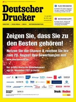 Produkt: Deutscher Drucker 9/2021