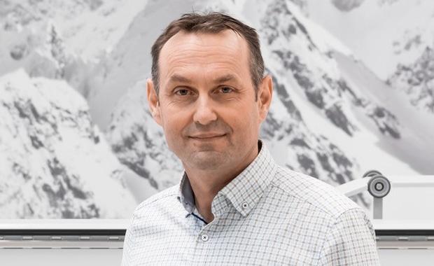 Druckindustrie: Kilian Hintermann, CEO SwissQprint AG.