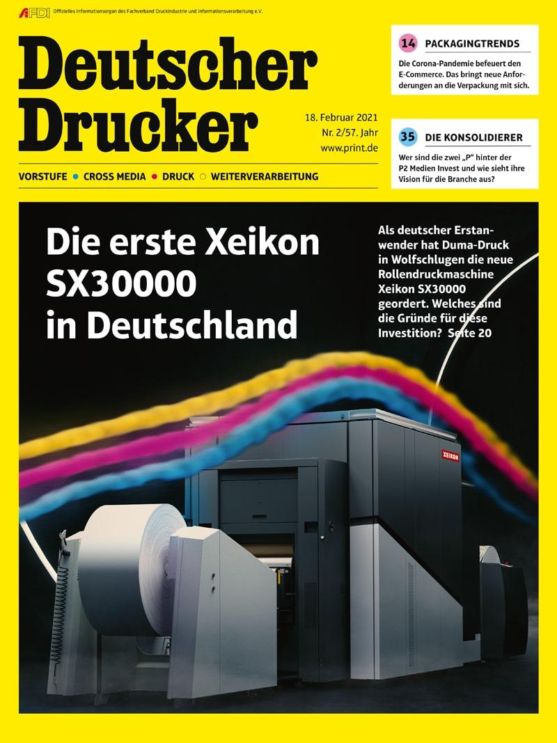 Produkt: Deutscher Drucker 2/2021