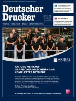 Produkt: Deutscher Drucker 4/2021