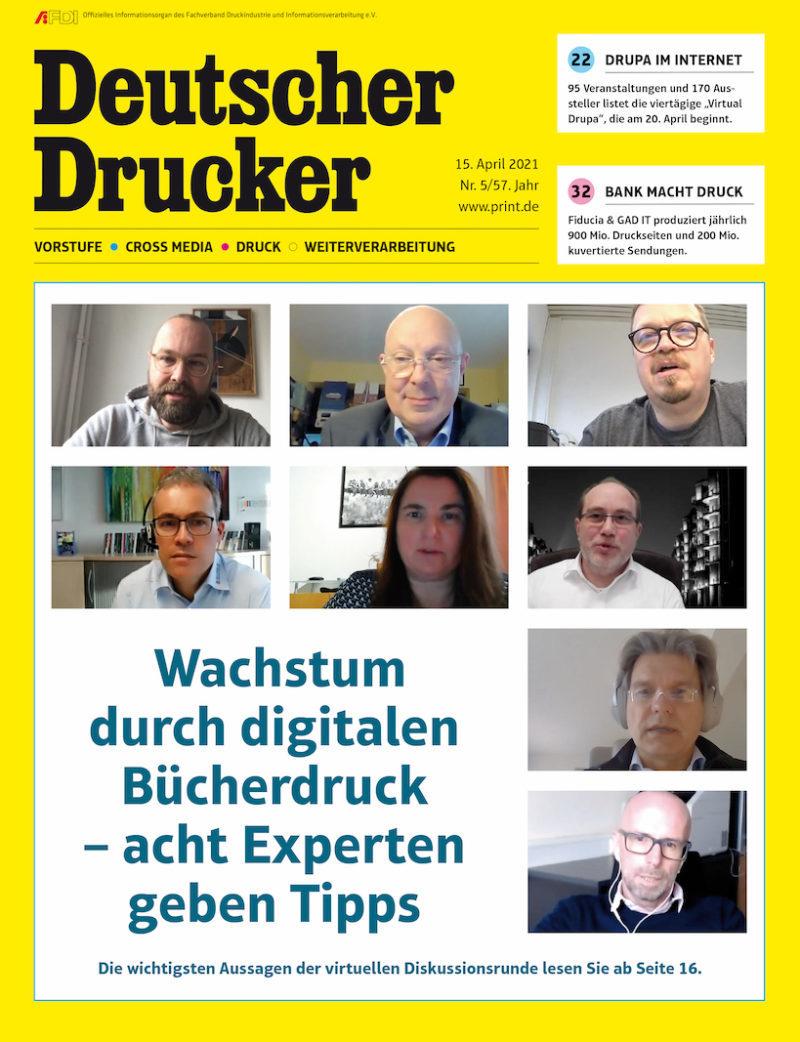 Produkt: Deutscher Drucker 5/2021