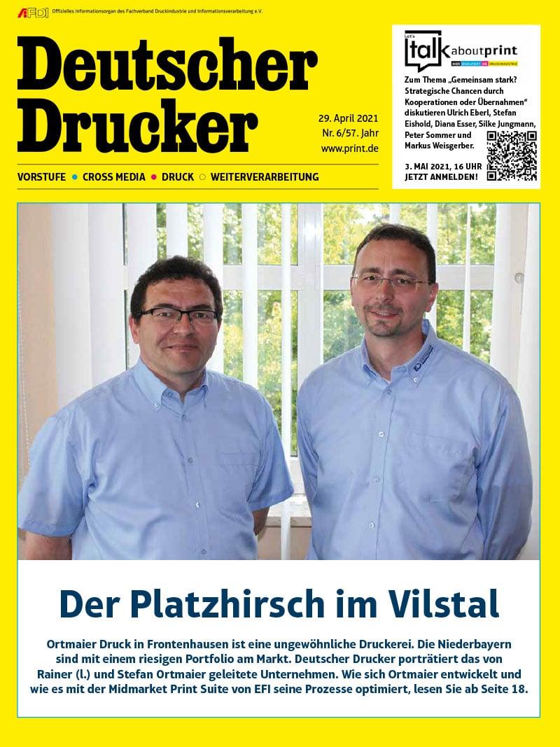 Produkt: Deutscher Drucker 6/2021