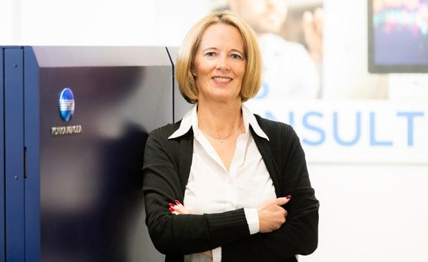 Britta Dannenberg, Senior Key Account Managerin (Leitung Digitaldruck) bei der Heinrich Steuber GmbH + Co. (Mönchengladbach).