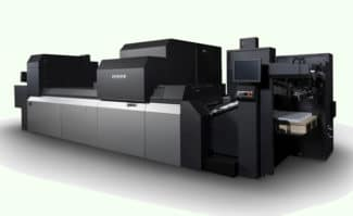 Soll ab Herbst 2021 erhältlich sein: das High-Speed-Modell der Fujifilm Jet Press 750S.