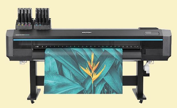 Large Format Printing: Ab sofort in Europa, dem Nahen Osten und Afrika verfügbar: der neue Drop-on-Demand-Sublimations-Tintenstrahldrucker Xpertjet-1682WR von Mutoh Europe.