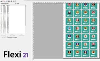 Large Format Printing: Flexi 21 unterstützt jetzt auch mit einigen Funktionen den variablen Datendruck.