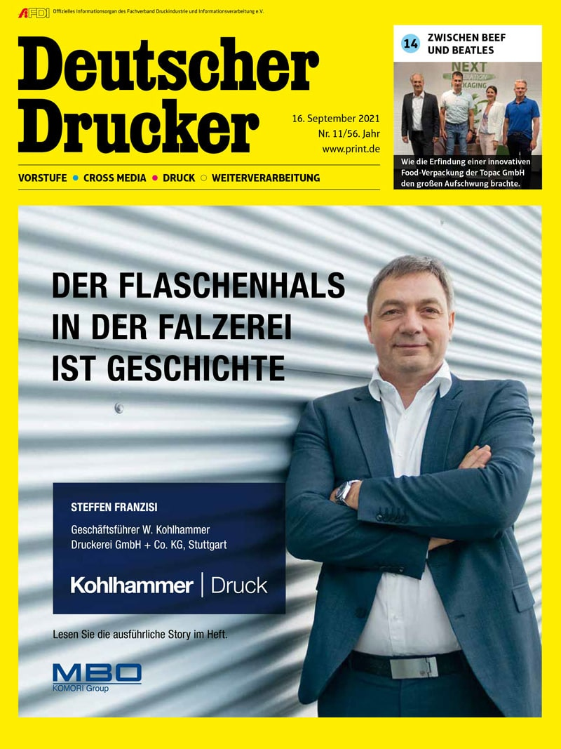 Produkt: Deutscher Drucker 11/2021