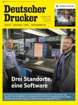 Produkt: Deutscher Drucker 13/2021