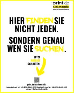 Produkt: Deutscher Drucker Jahresabonnement Plus aus Aktion